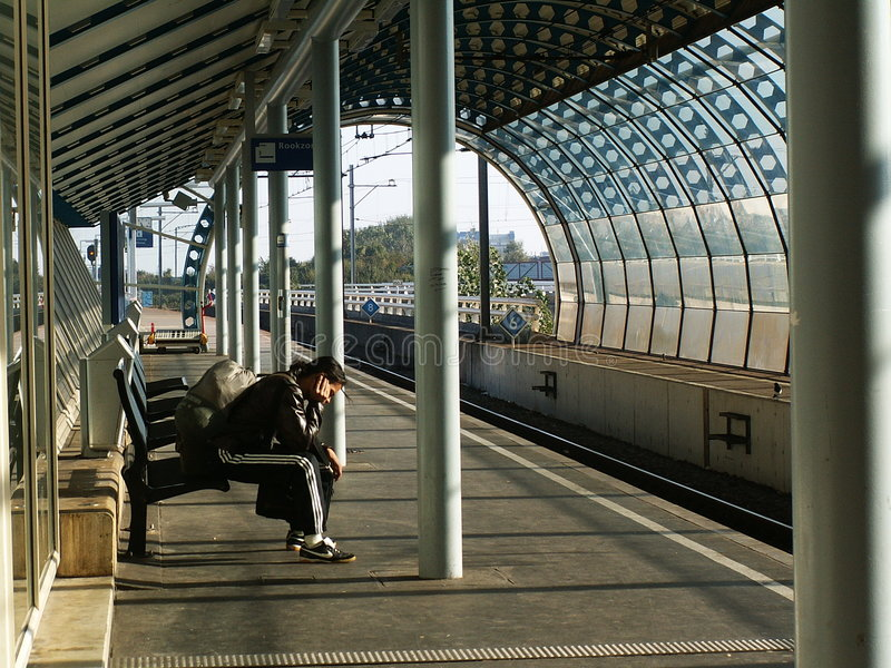 Station stockbild