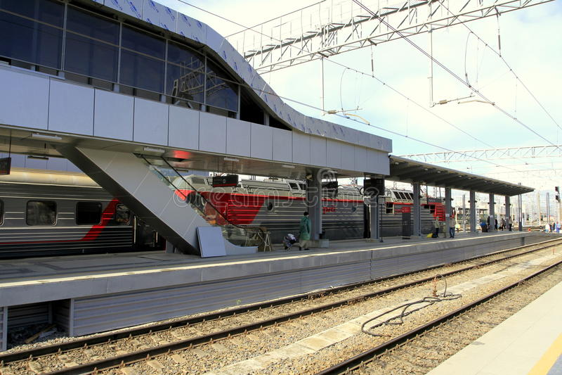 Station royaltyfria bilder