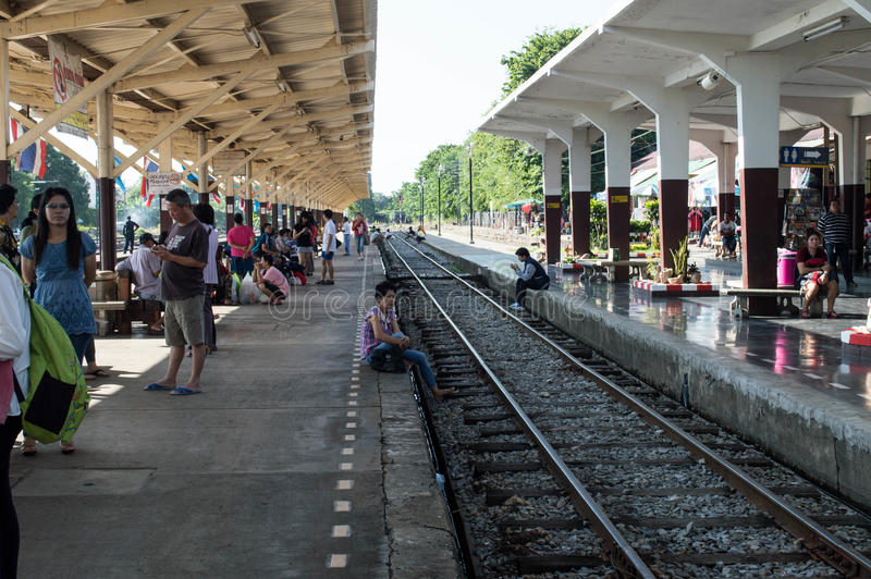 Station stock afbeelding