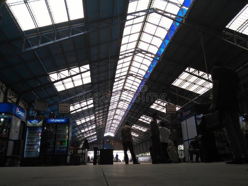 station royaltyfri fotografi