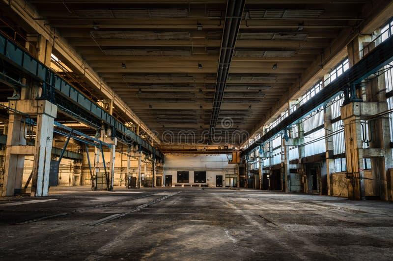 Station abandonnée de réparation de véhicule photo libre de droits
