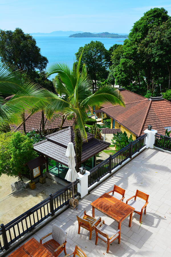 Station balnéaire à Phuket images stock