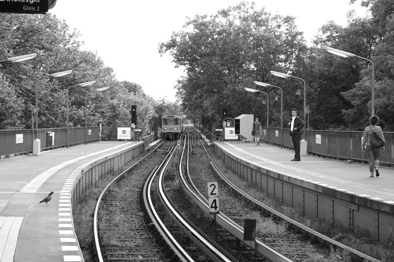 Station in Berlin royalty free stock photography