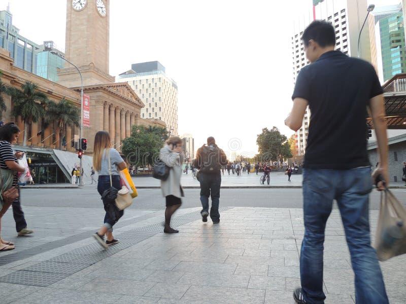 Station centrale Brisbane photos libres de droits