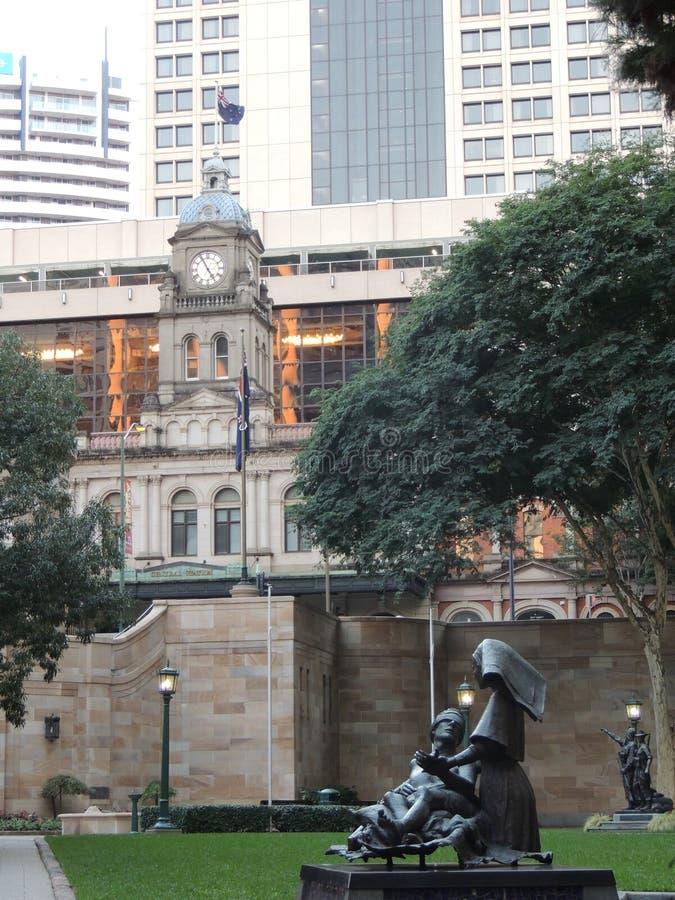 Station centrale Brisbane images stock