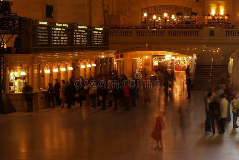 Station centrale grande photos libres de droits