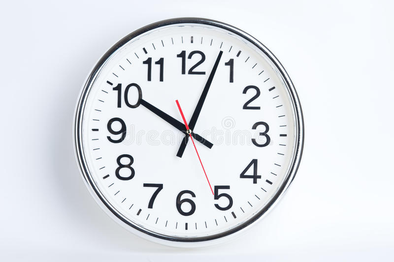 Station clock royalty free stock image