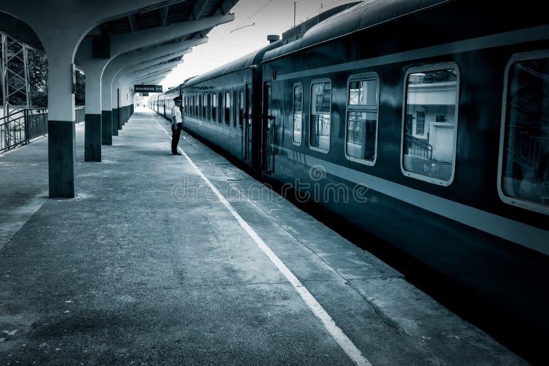 Station in Dageraad royalty-vrije stock fotografie