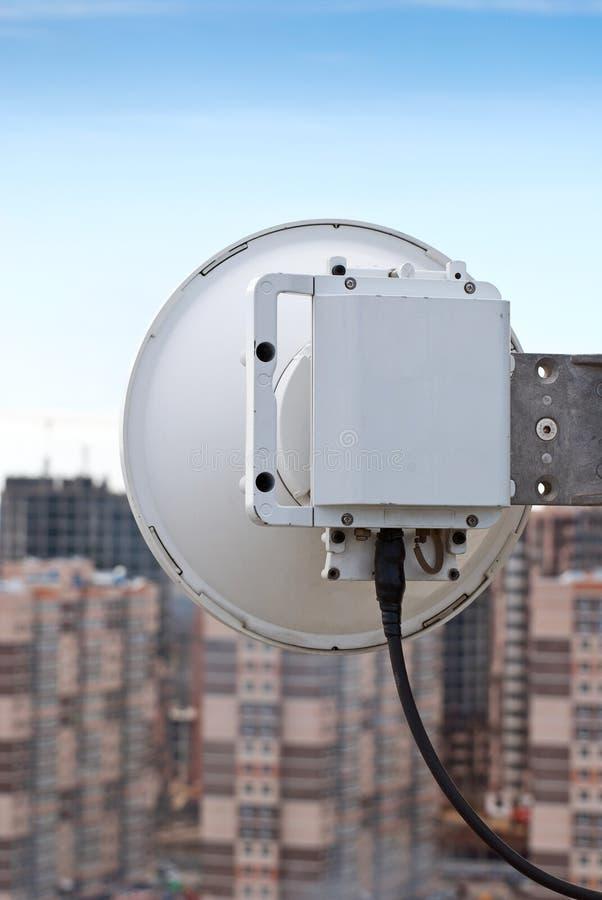 Station de base cellulaire d'antenne image stock