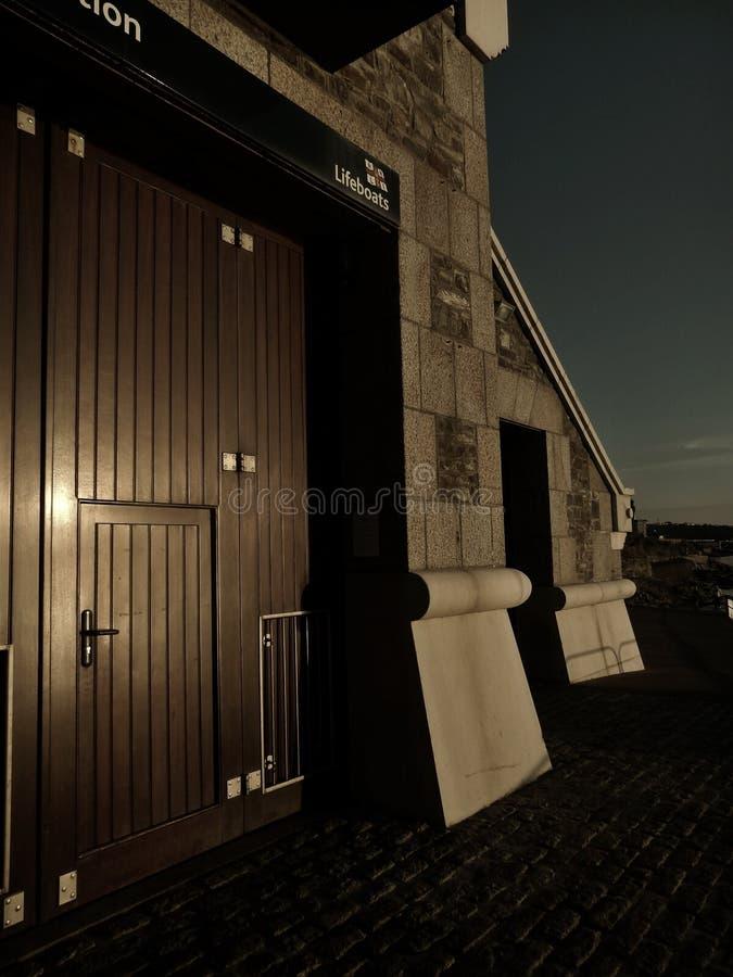 Station de canot de sauvetage photo libre de droits