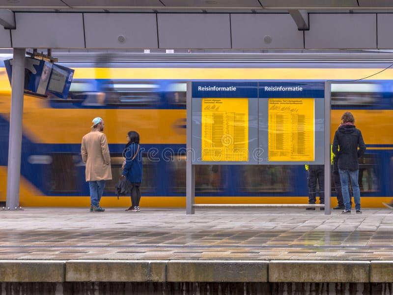 Station de central d'Utrecht images stock