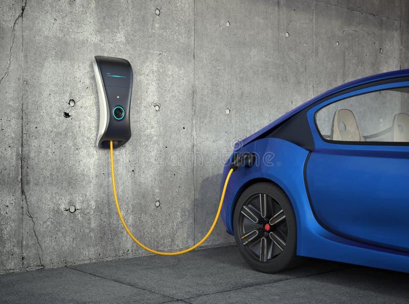 Station de charge de véhicule électrique pour la maison photos libres de droits