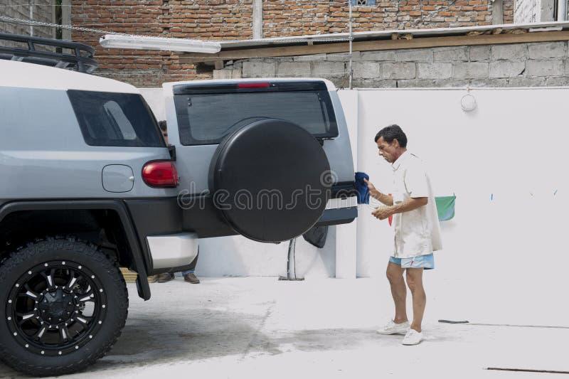 Station de lavage photo stock
