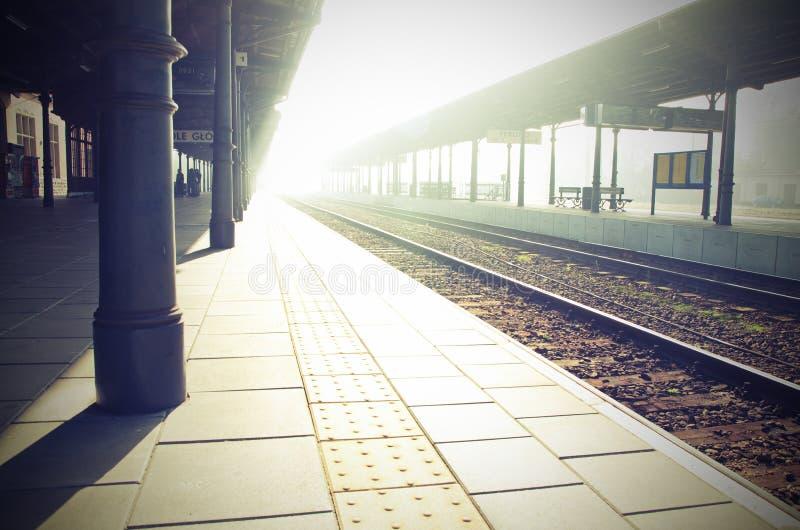Station de Lightway photo libre de droits