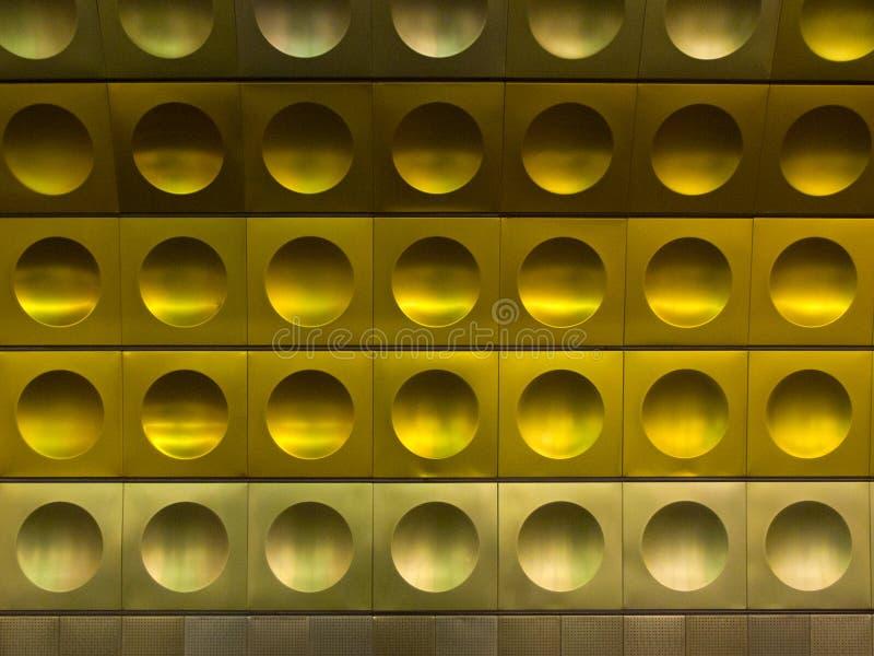 Station de métro à Prague photos libres de droits