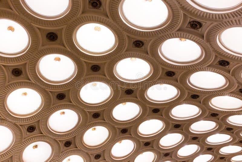 Station de métro d'Elektrozavodskaya images libres de droits