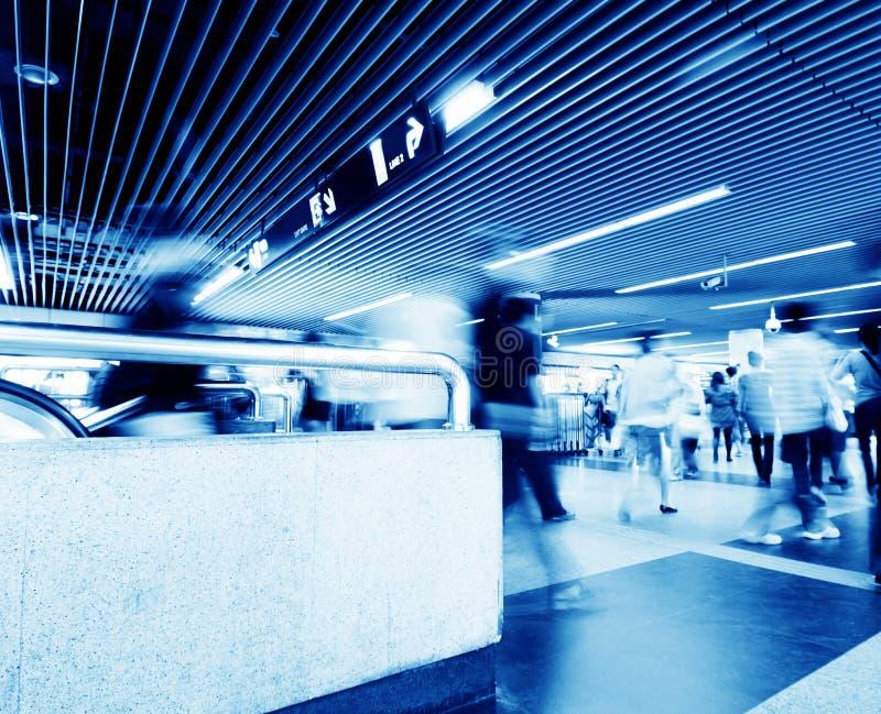 Station de métro de Hall photographie stock libre de droits