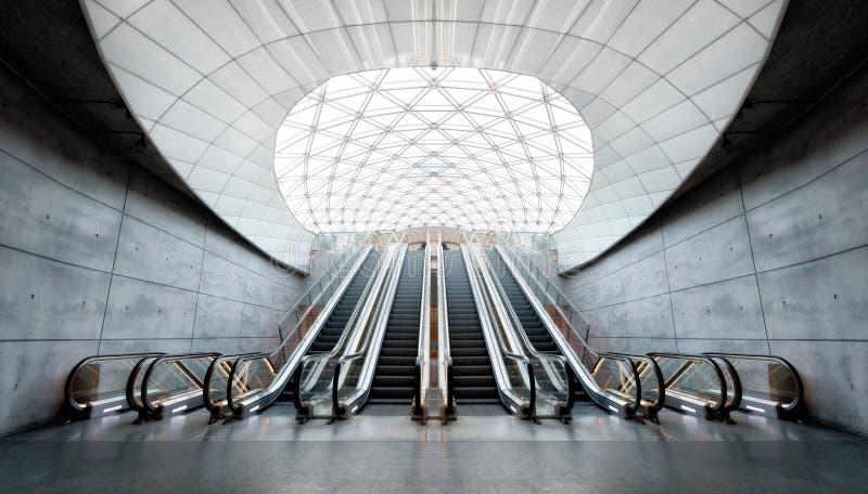 Station de métro de Malmö image libre de droits