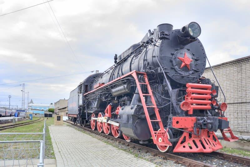 Download Station De Rtishchevo Vieille Locomotive à Vapeur Photo stock éditorial - Image du landmark, railway: 77152908