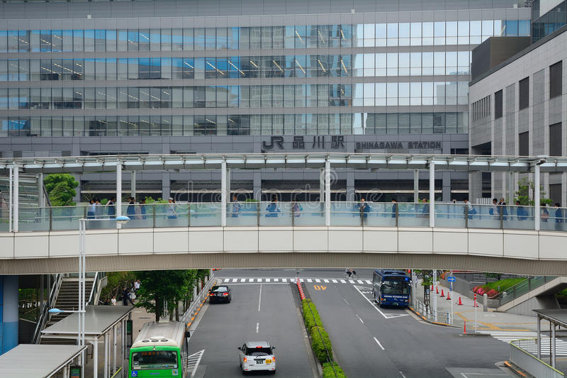 Station de Shinagawa, Tokyo, Japon image stock