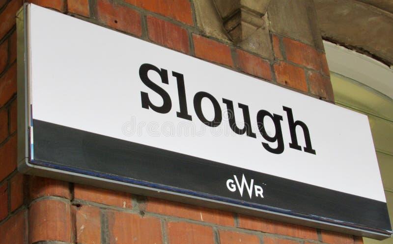 Station de Slough photographie stock