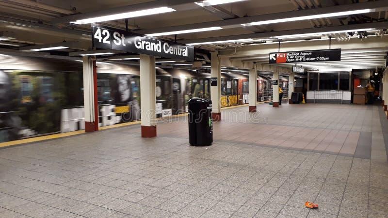 Station de souterrain photo libre de droits