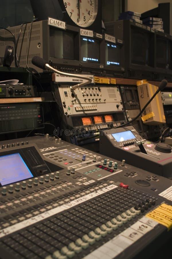 Station de télévision photos stock