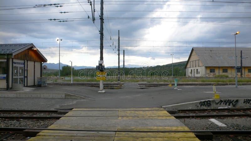 Station de train photos libres de droits