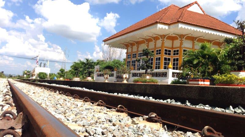 Station de train photographie stock libre de droits