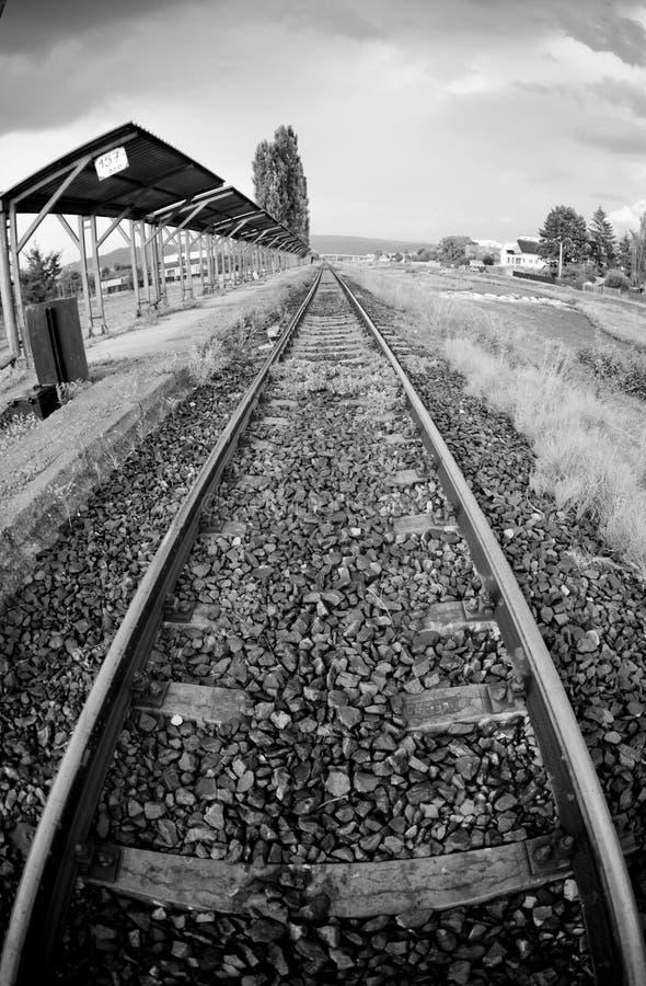 Station de train abandonnée photos libres de droits