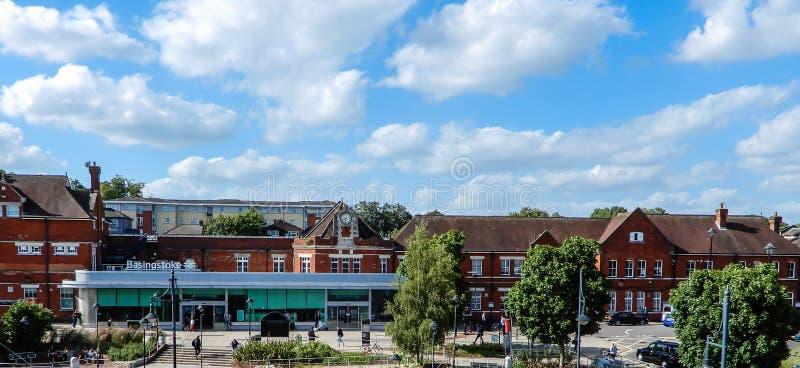 Station de train de Basingstoke images libres de droits