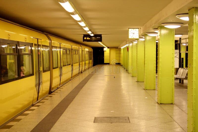Station de train de Berlin images stock