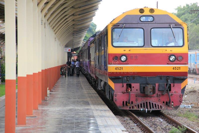 Station de train de Chiangmai photo libre de droits