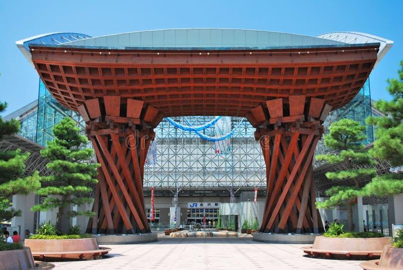 Station de train de Kanazawa photographie stock libre de droits