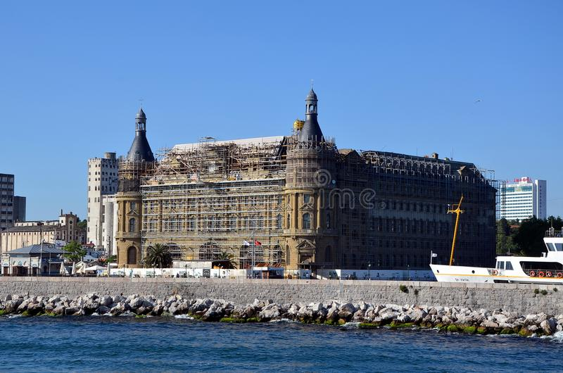 Station de train de Haydarpasa image stock