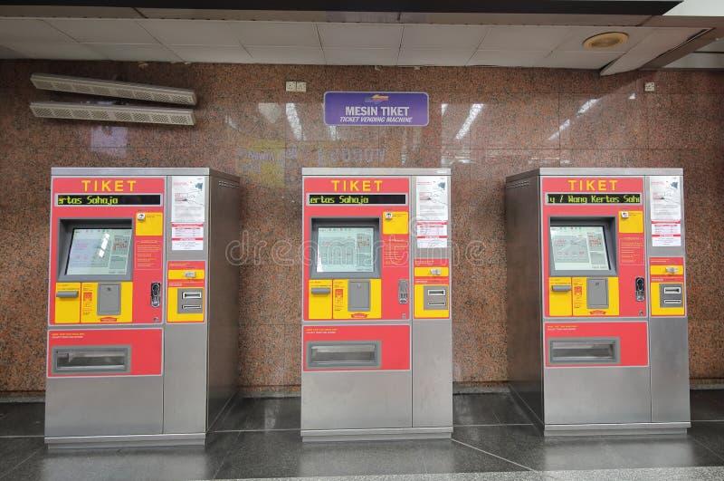 Station de train Kuala Lumpur Malaysia photographie stock libre de droits