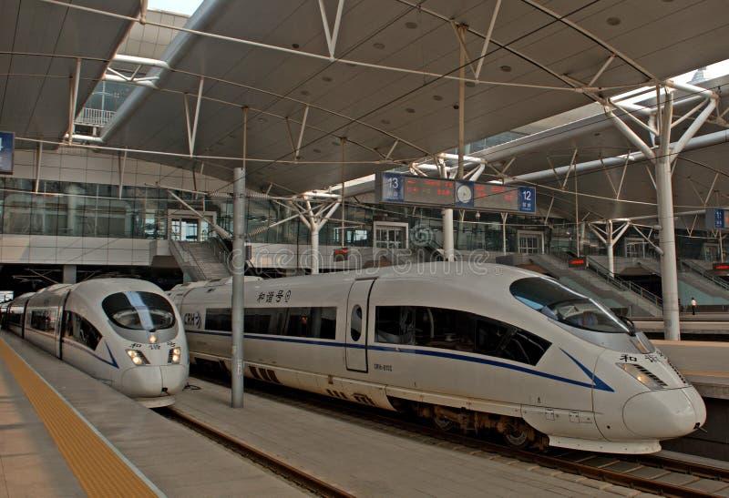 Station de train, Tianjin, Chine image stock