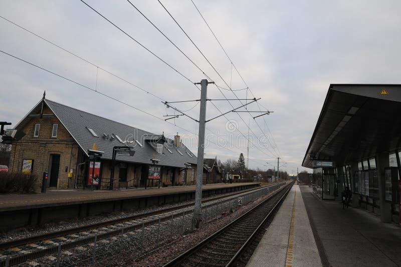 Station de tranisn de Maalov en zélande du nord Danemark photo libre de droits
