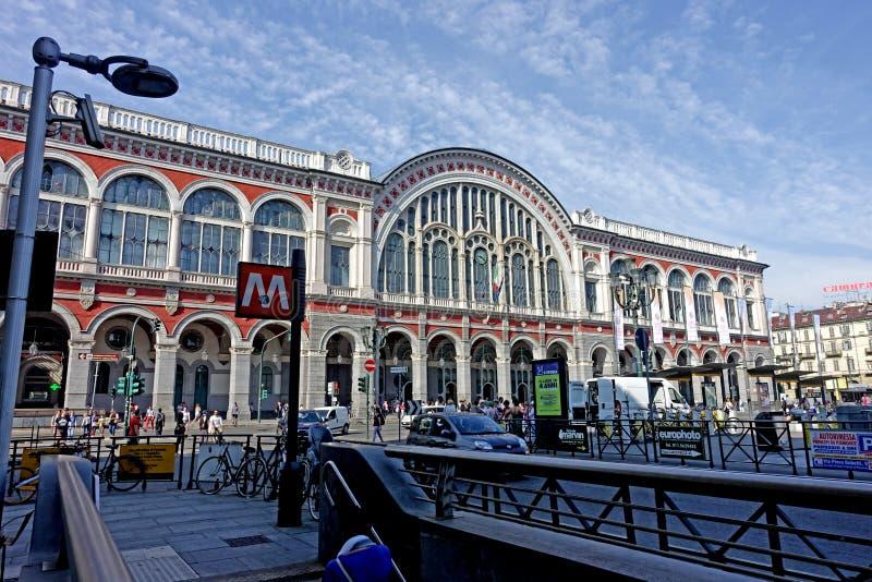 Station de Turin Porta Nuova photos libres de droits