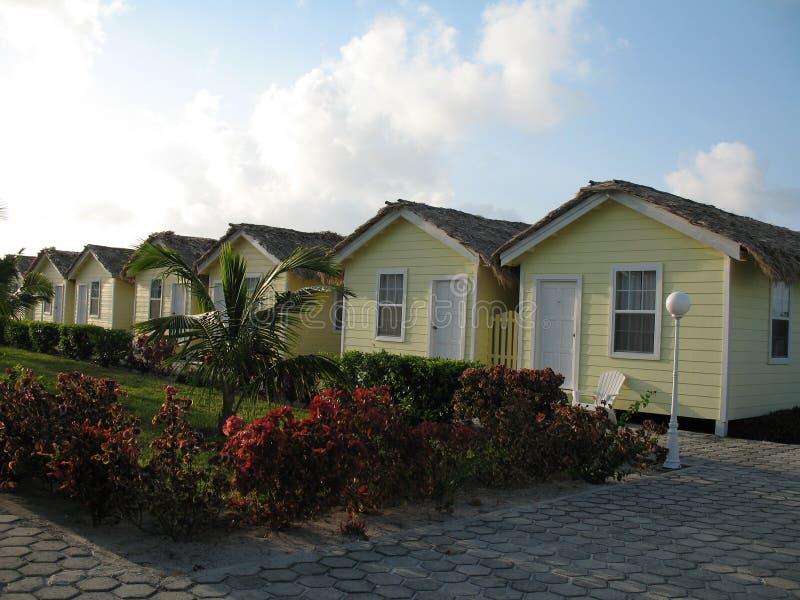 Station de vacances à Belize photo libre de droits