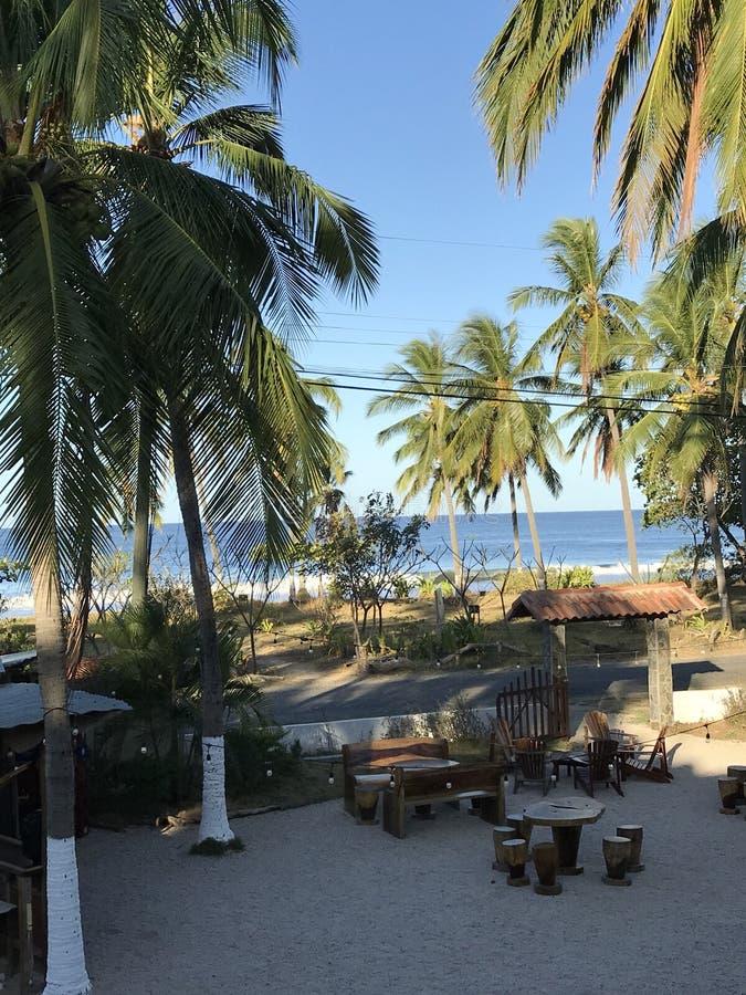 Station de vacances Costa Rica images libres de droits