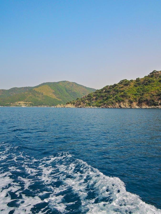 Station de vacances de croisière de mer photographie stock libre de droits