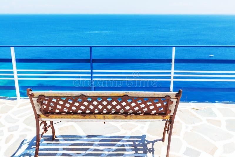 Station de vacances de la Grèce photo stock