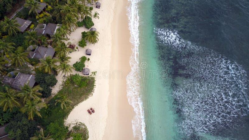 Station de vacances de poulpe aux Fidji photographie stock libre de droits