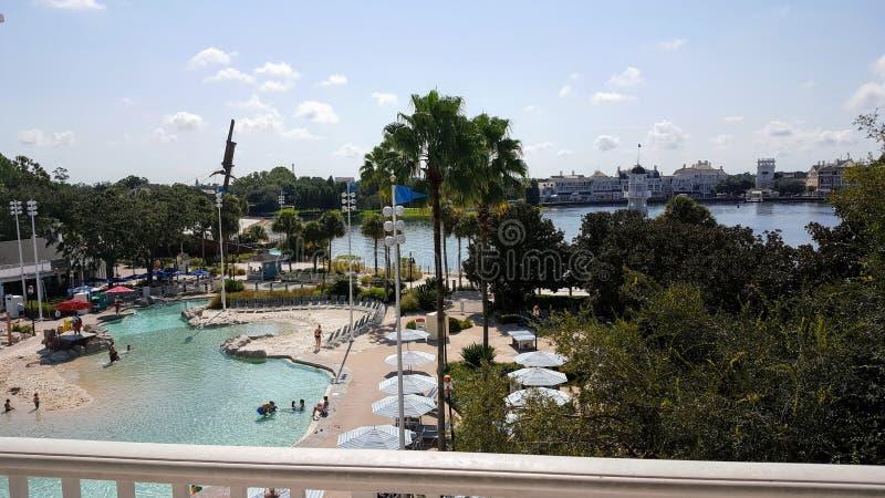 Station de vacances 2 de Walt Disney World Yacht Club photographie stock libre de droits