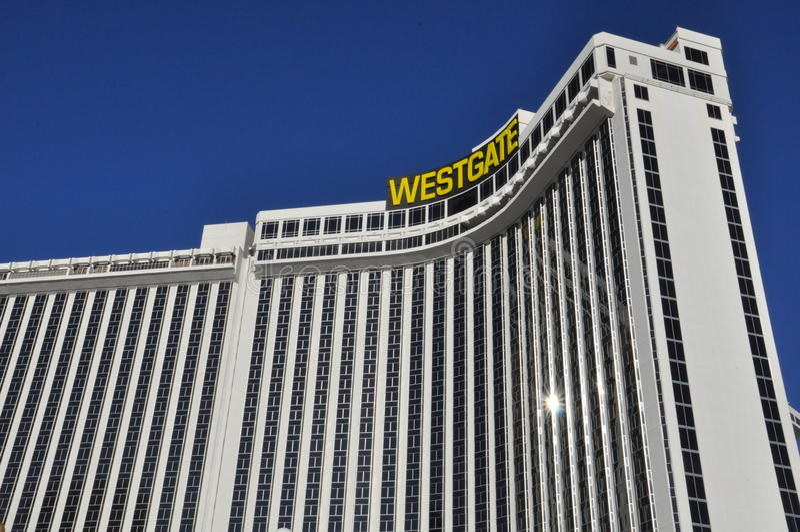 Station de vacances et casino de Westgate Las Vegas photographie stock