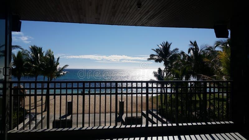 Station de vacances et Station-lobby intercontinentaux de golf des Fidji images stock