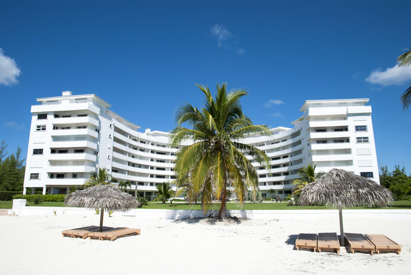Station de vacances grande de Bahama image libre de droits