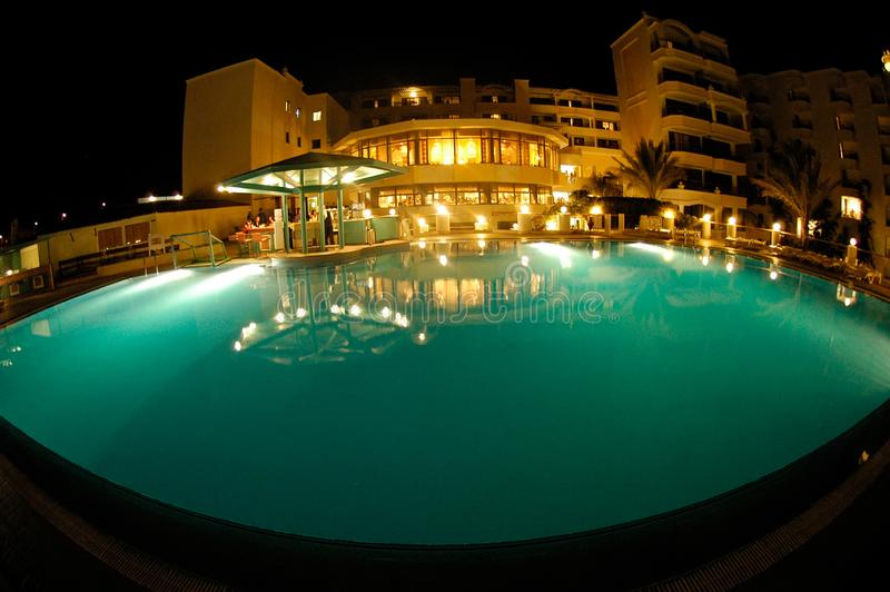 Station de vacances grande Hurghada Egypte photos stock