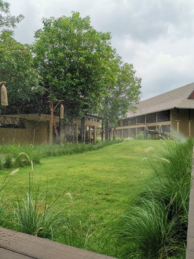Station de vacances isan d'Isaan images libres de droits